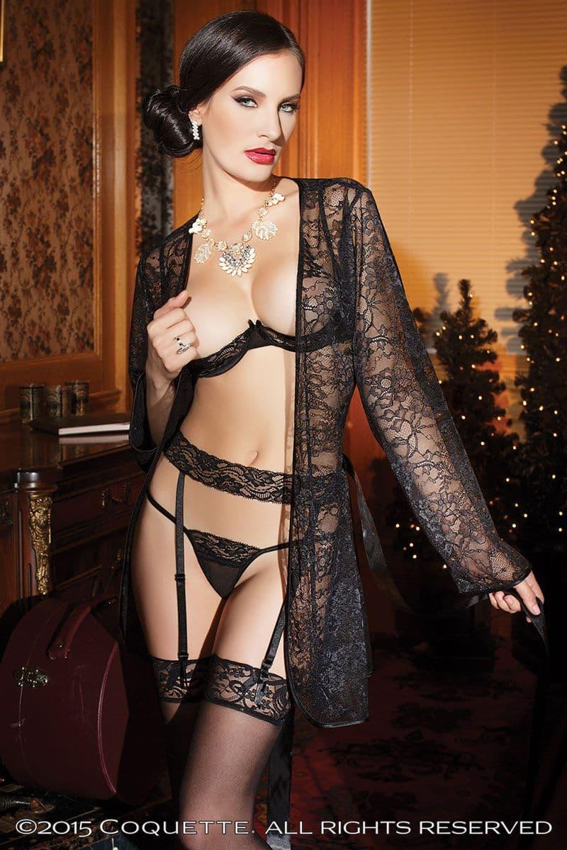 Amateur lingerie models in pvc