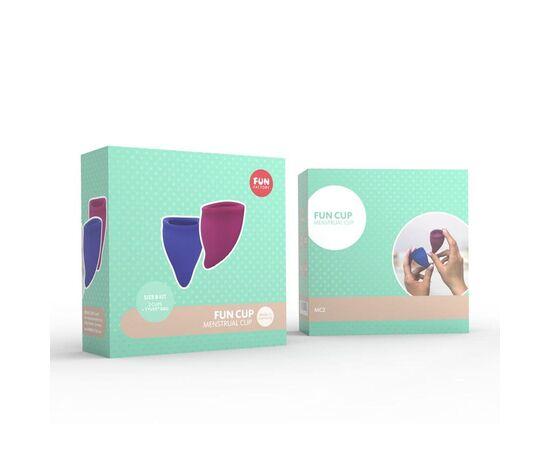 Набор из 2 менструальных чаш Fun cup Size B Kit, фото 2