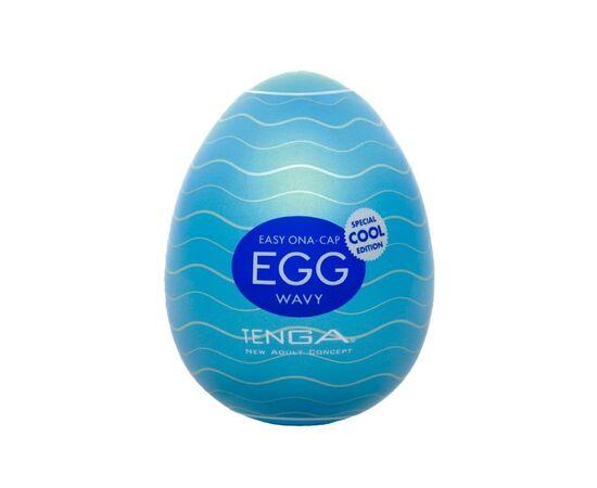 Мастурбатор-яйцо с охлаждающей смазкой COOL EGG, фото 1