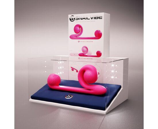 Уникальный вибромассажер-улитка для двойной стимуляции Snail Vibe, фото 1